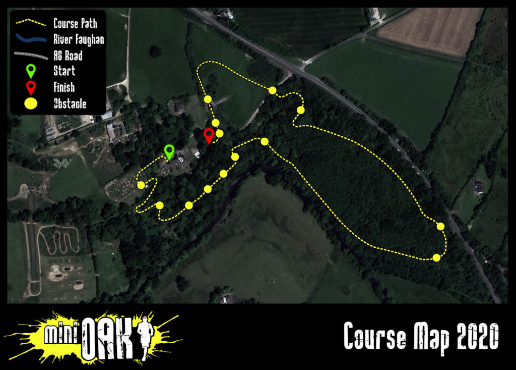 mini OAK 2020 course map
