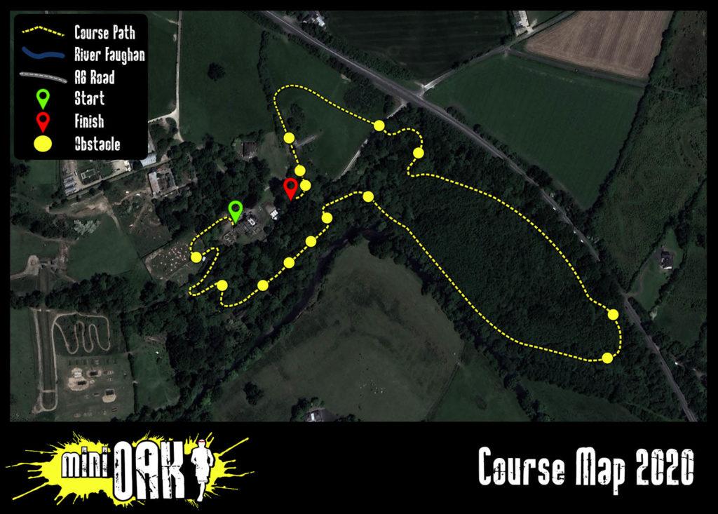 mini OAK 2020 course map