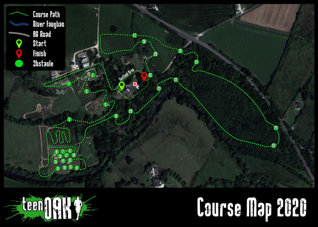 teen OAK course map 2020